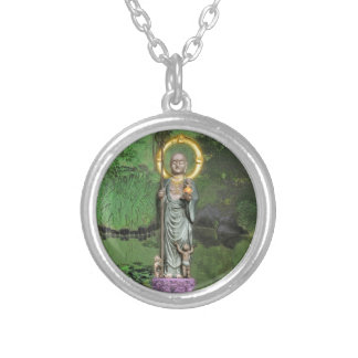 Jizo Silver Plated Necklace
