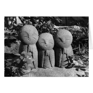 Jizo Statues: Hase Temple, Japan Card