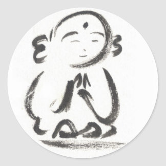 Jizo the Monk Stickers