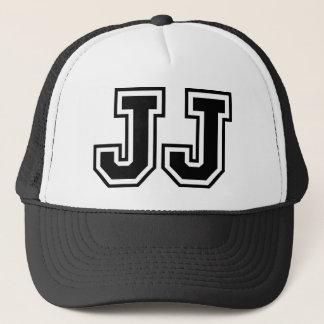 """""""JJ"""" Monogram Trucker Hat"""