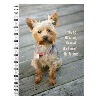 """jjhelene Yorkshire Terrier """"Nina"""" - Notebook"""