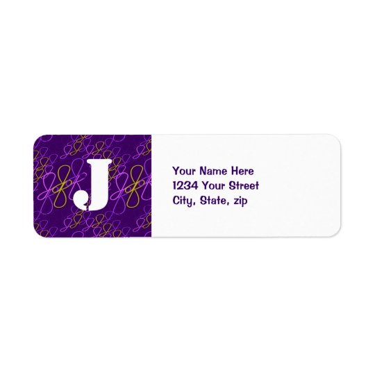 JjParade Amazing Grape Return Address Label