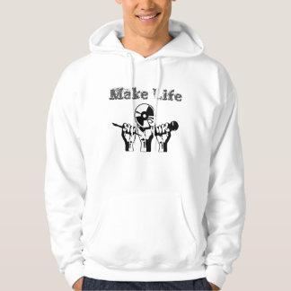 JK16 APPAREL - Make Life Hoodie
