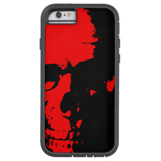 JK16 APPAREL - RED SKULL TOUGH XTREME iPhone 6 CASE