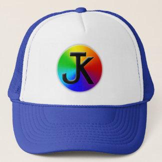 Jk color wheel logo hat
