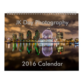 JK Day Photography 2016 Nature Calendar