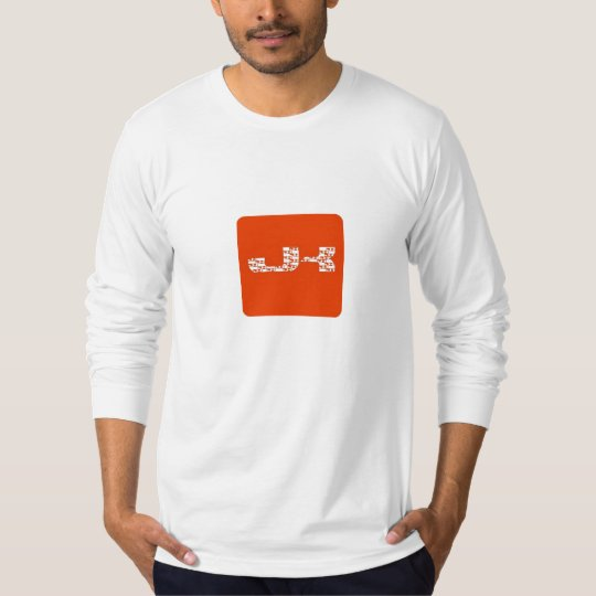 JK Logo Hole Repeated T-Shirt