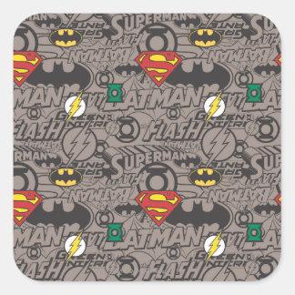JL Core Supreme 6 Square Sticker