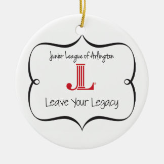 "JLA ""Leave Your Legacy"" Ornament"