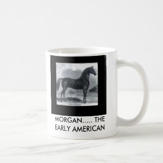 JM2, MORGAN..... THE EARLY AMERICAN COFFEE MUG
