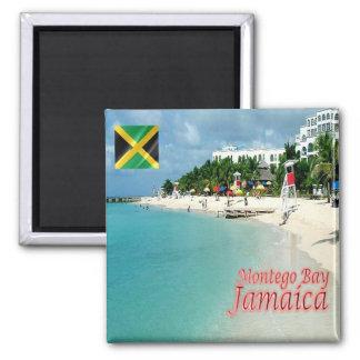 JM - Jamaica - Montego Bay -  Doctor's Cave Beach Magnet