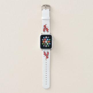 JMCDesign Red Bird Apple Watch Band