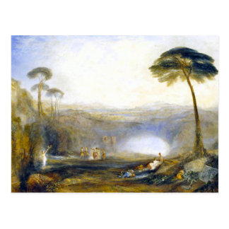 JMW Turner The Golden Bough Postcard