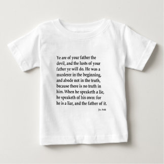 Jn. 8:44,w baby T-Shirt