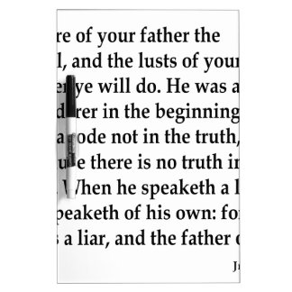 Jn. 8:44,w dry erase board