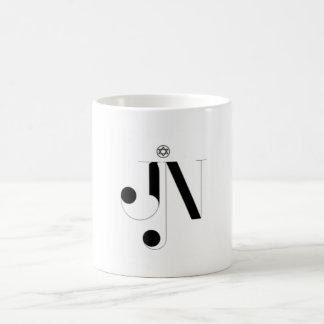 JN Logo Black/White 11 oz Morphing Mug