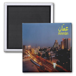 JO - Jordan - Amman By Night Magnet