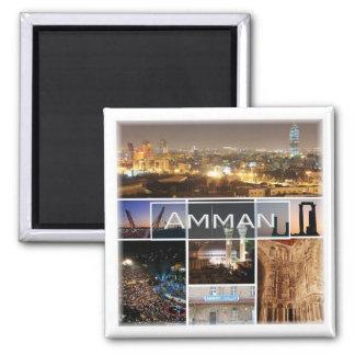 JO * Jordan - Amman Panorama Magnet