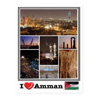 JO Jordan - Amman  - Postcard