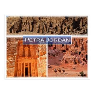 JO Jordan - Petra - Postcard