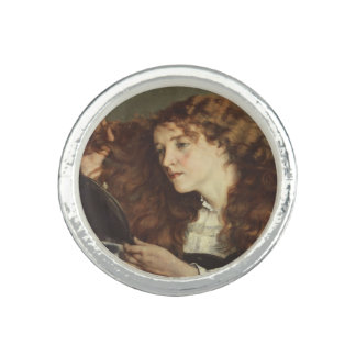 Jo, the Beautiful Irishwoman by Gustave Courbet Ring