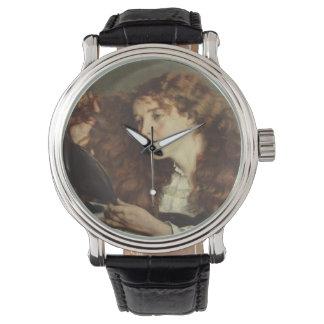 Jo, the Beautiful Irishwoman by Gustave Courbet Wristwatch