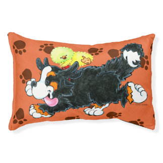 Jo the Bernese Mountain Dog doggie bed