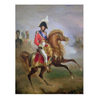 Joachim Murat  on Horseback, 1814-15 Postcard