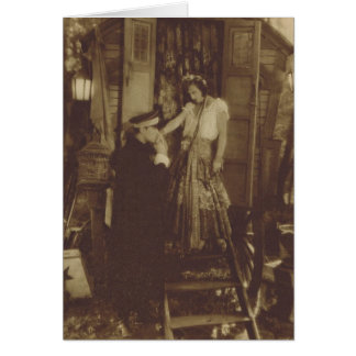 Joan Crawford Nils Asther movie photo Card