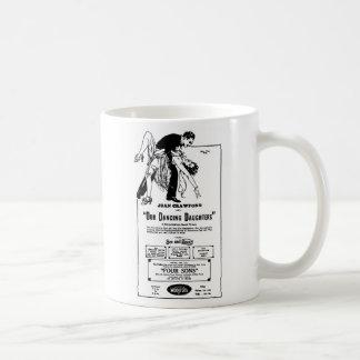 Joan Crawford OUR DANCING DAUGHTERS 1928 Coffee Mug