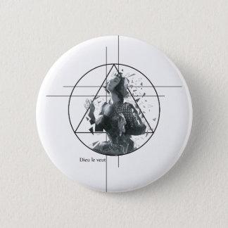 Joan d'Arc 2 Inch Round Button