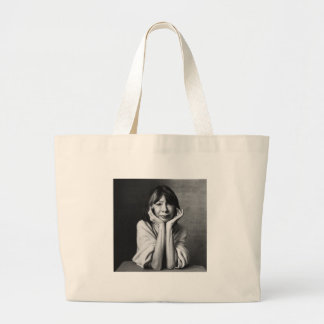 Joan Didion Large Tote Bag