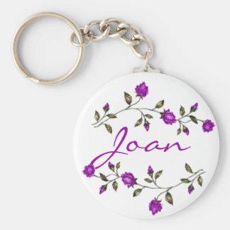 Joan Keychain