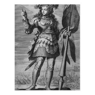 Joan of Arc  Before Orleans Postcard