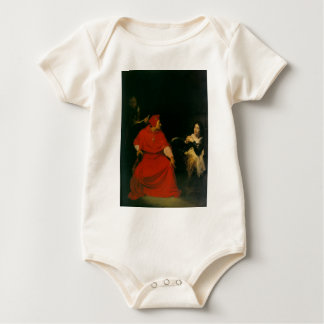 'Joan of Arc Being Interrogated' Baby Bodysuit
