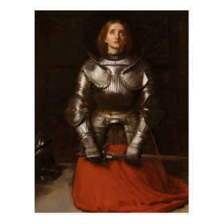 Joan of Arc Postcard