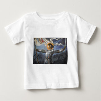 Joan of Arc with banner Baby T-Shirt