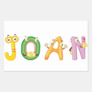 Joan Sticker