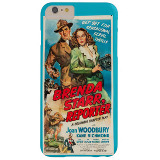 Joan Woodbury Brenda Starr film ad Barely There iPhone 6 Plus Case