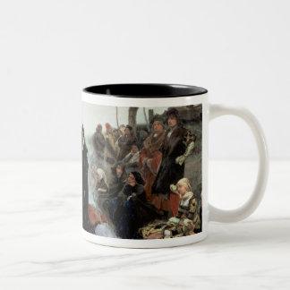 Joanna the Mad Two-Tone Coffee Mug