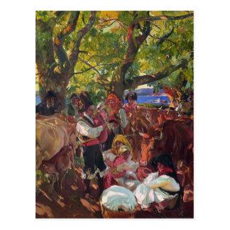 Joaquín Sorolla- Galicia, the Pilgrimage Postcard