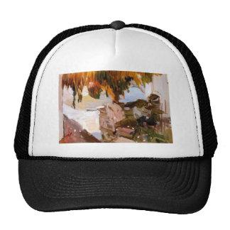 Joaquín Sorolla- Ibiza house Trucker Hat