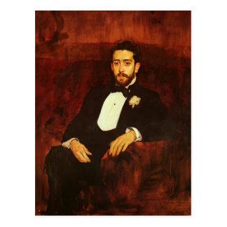Joaquín Sorolla- Portrait of lawyer Don Silverio Postcard