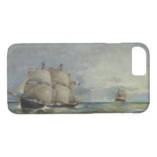 Joaquin Sorolla - Sailboats in the Sea iPhone 8/7 Case