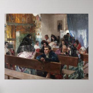 Joaquin Sorolla - The Baptism Poster