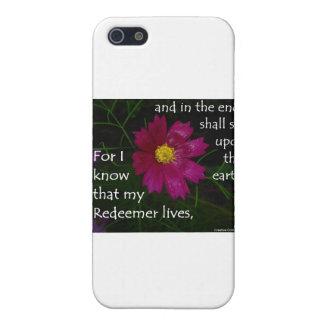 Job 19:25 I know that my Redeemer Lives! iPhone 5 Case