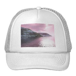 Job 37:14  Sunrise Trucker Hat