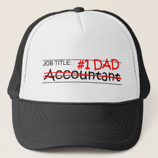 Job Dad Accounting Trucker Hat