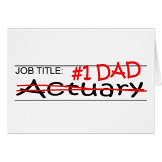Job Dad Actuary Card