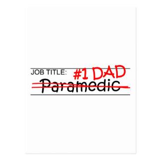 Job Dad Paramedic Postcards